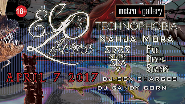 Ego Likeness, Technophobia, Nahja Mora, Stars and the Sea, Fun Never Starts